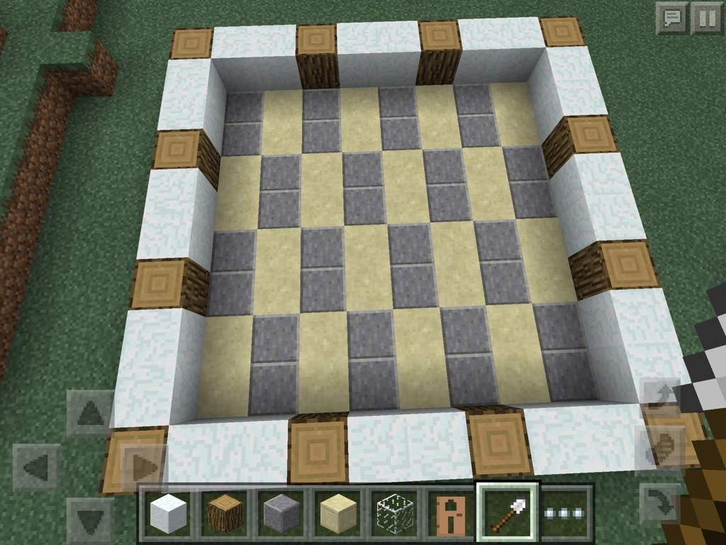 how to make a bathroom in minecraft pe minecraft amino 2 now i made a floor using polished andesite and sandstone in a cool design