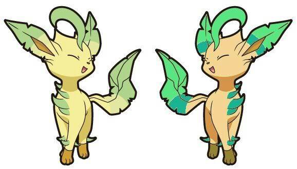 Leafeon Shiny | www.pixshark.com - Images Galleries With A ...