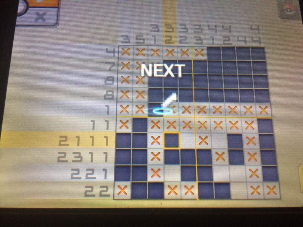 Pokemon picross 07 05 floatzel images pokemon images for Pokemon picross mural 02