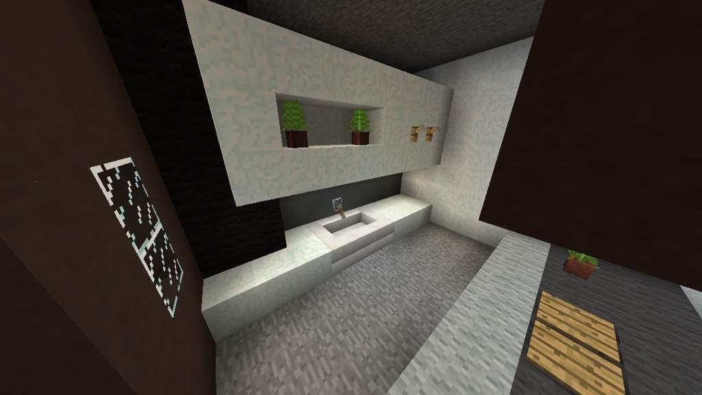 Affordable Modern Kitchen Design Minecraft Amino With Minecraft Modern  Bathroom Part 77