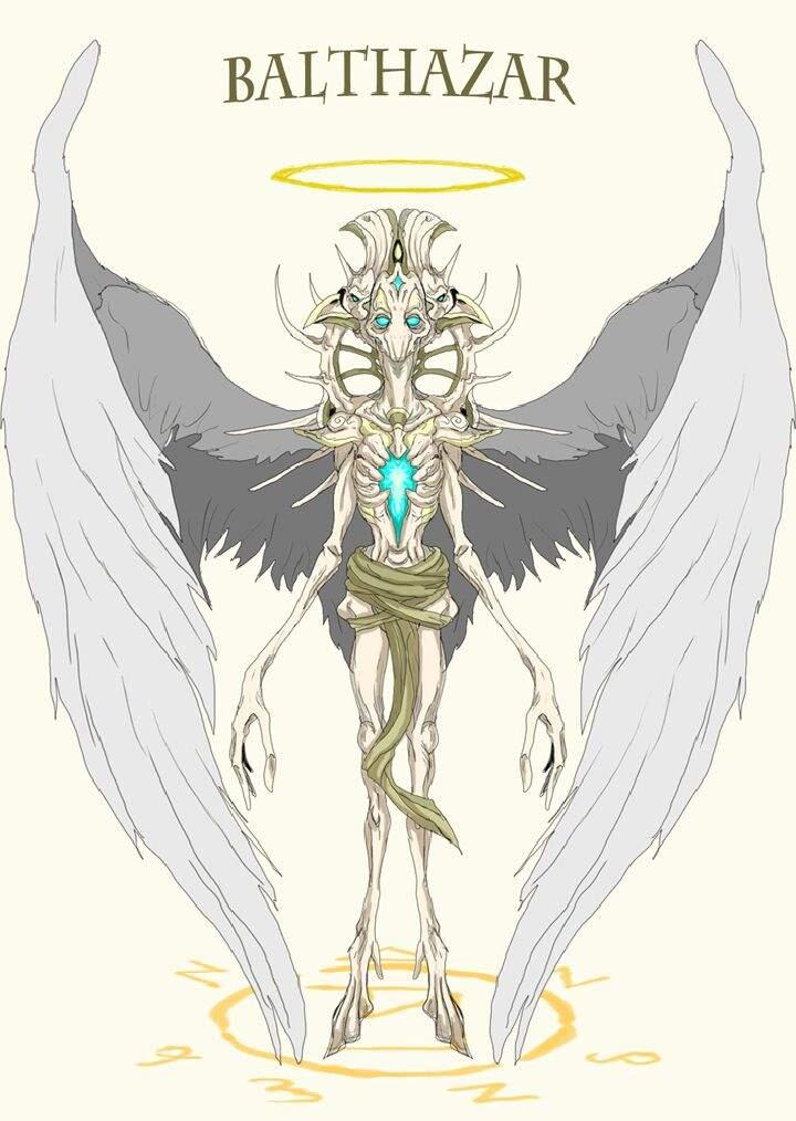 Angel's true form   Supernatural Amino