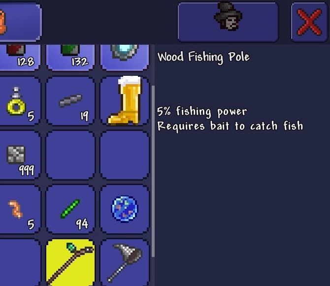 Terraria update forget which number video games amino for Fishing poles terraria