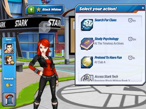 Avengers academy dating