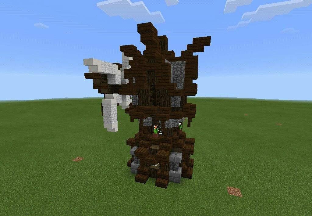 Medieval Windmill build | Minecraft Amino