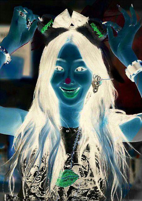 dot illusion optical blink sistar pop really fast