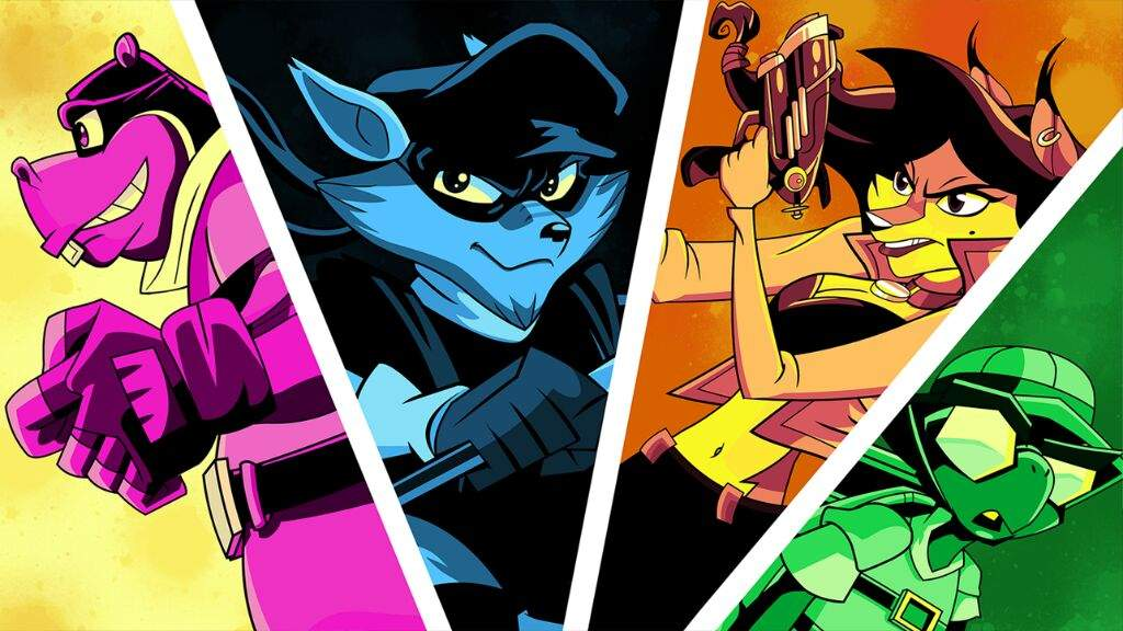 Master Thieves at Hand! Lupin III vs Sly Cooper