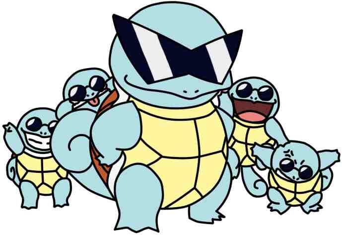 Starting Aas First Squirtle Squad Gang Anime Amino