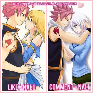 who does natsu suit better with lucy or lisanna fairy