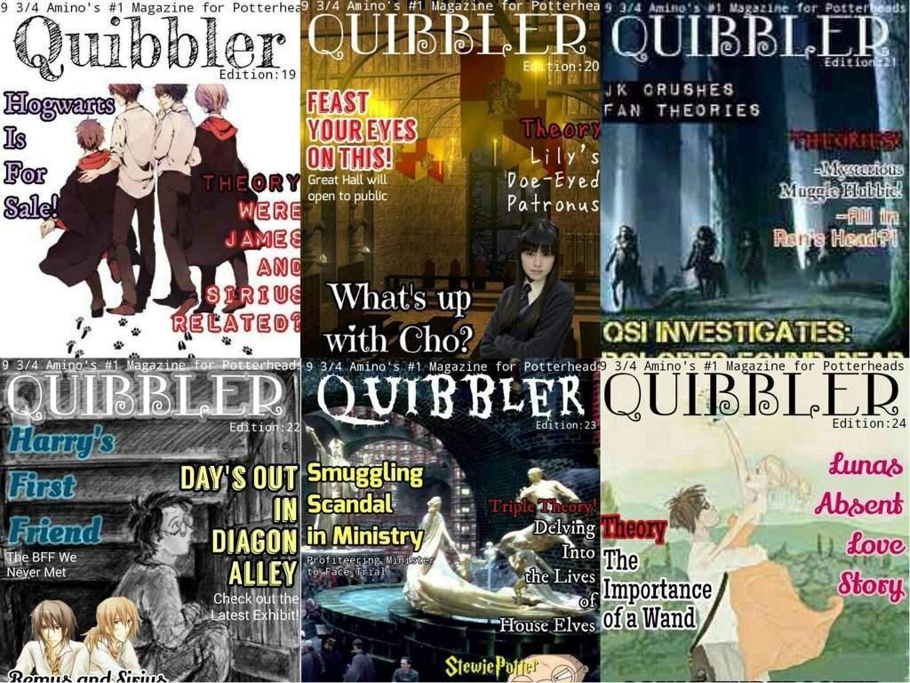 Quibbler Cover The Quibbler | Harry P...