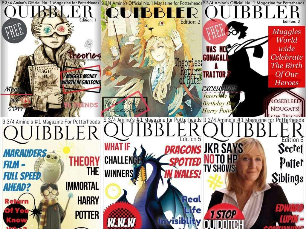 Quibbler Cover The Quibbler | Harry P...