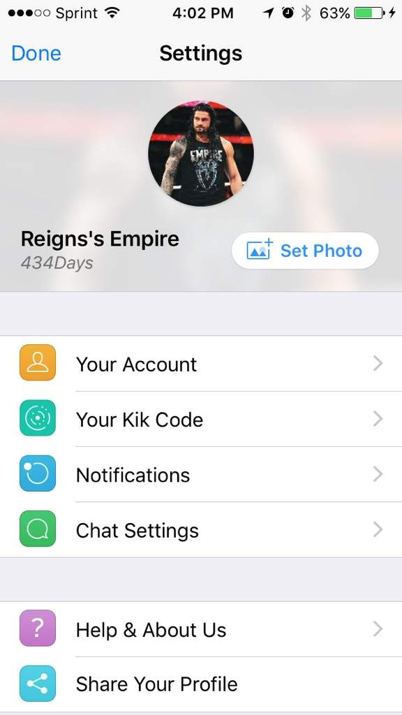 Chat me on kik