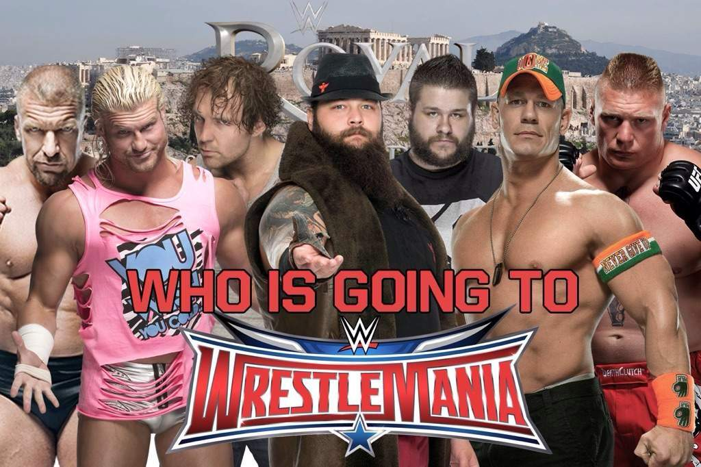 Readytorumble Whos Going To Wrestlemania Wrestling Amino