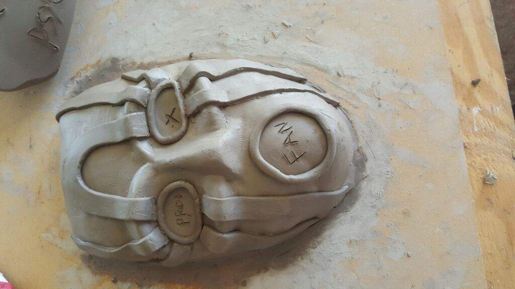 Borderlands First time with clay and etsy selling | Cosplay