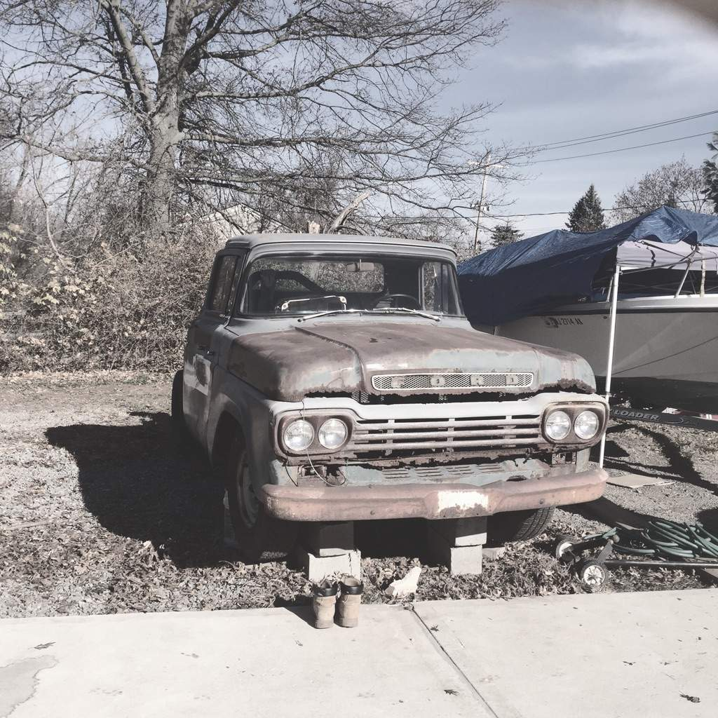 59 ford f250 garage amino for Garage ford 59