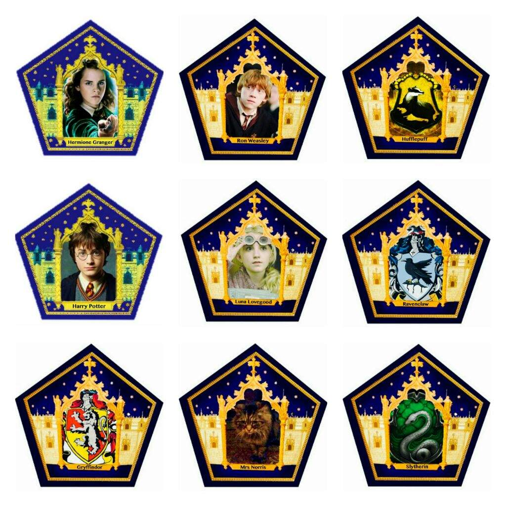 Chocolate Frog Cards | Harry Potter Amino