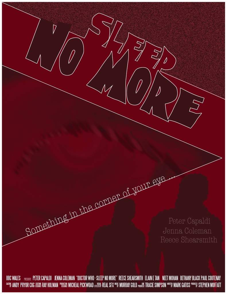 sleep no more poster dating