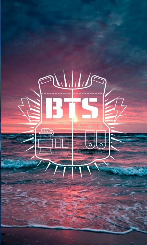 BTS logo lockscreen background  KPop Amino
