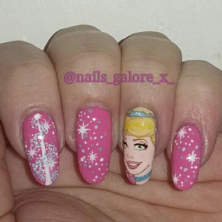 Cinderella Nail Art: Nail Art Amino