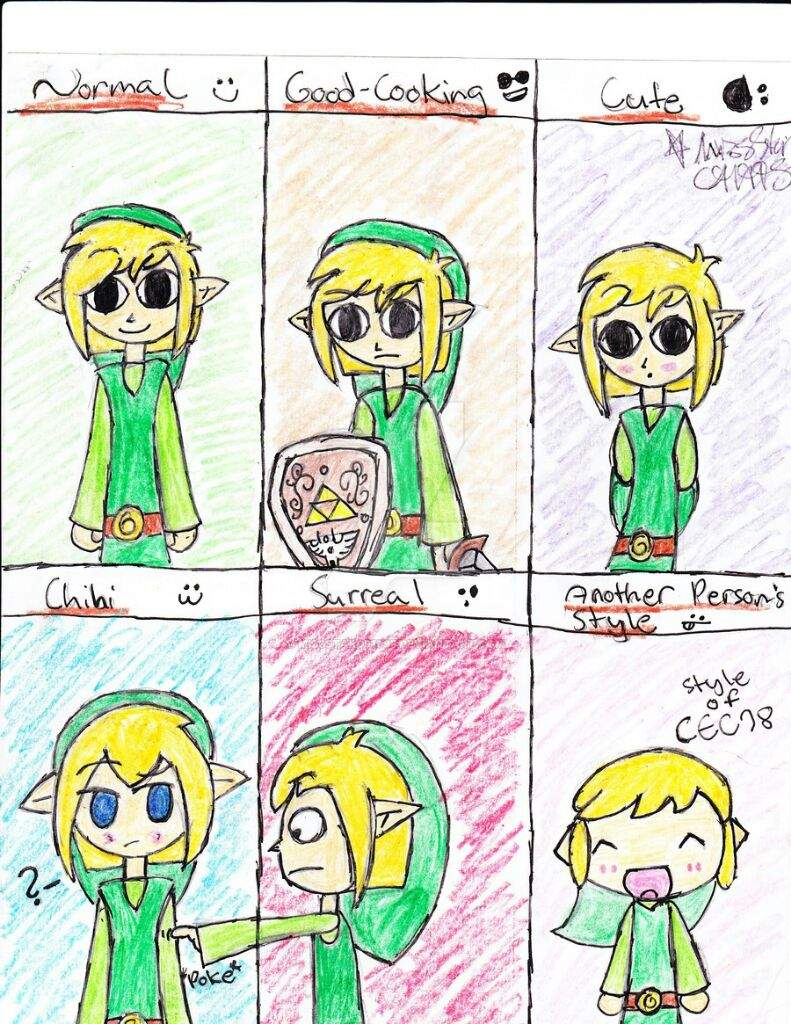 Toon link funny