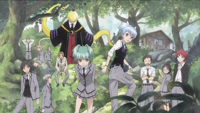 what the anime left out assassination classroom season 2 episode 1 anime amino. Black Bedroom Furniture Sets. Home Design Ideas