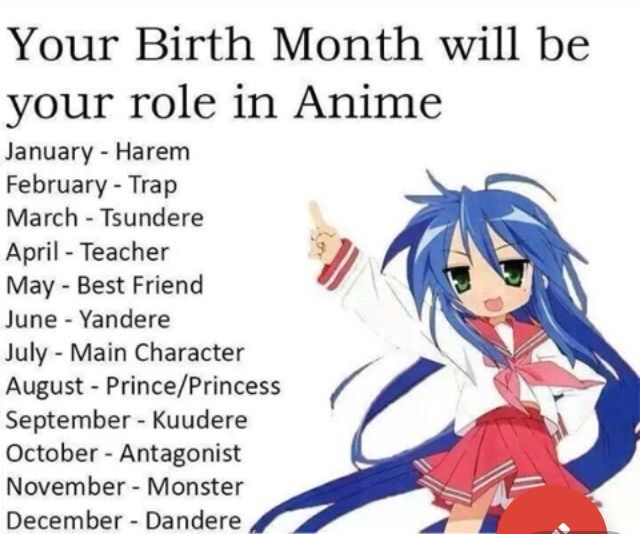 Anime Characters October Birthdays : Your birth month will be role in anime amino