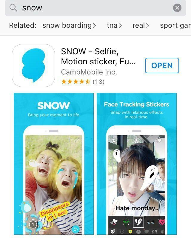 скачать приложение Snow на андроид - фото 6