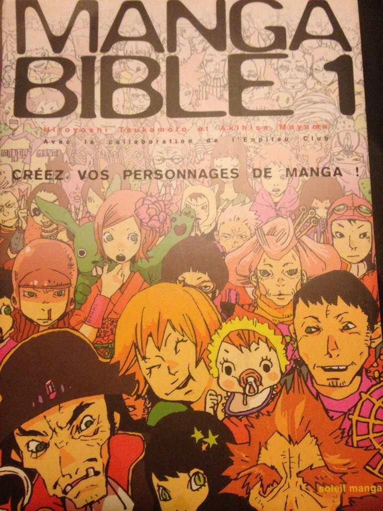Got the manga bible 1 in french anime amino