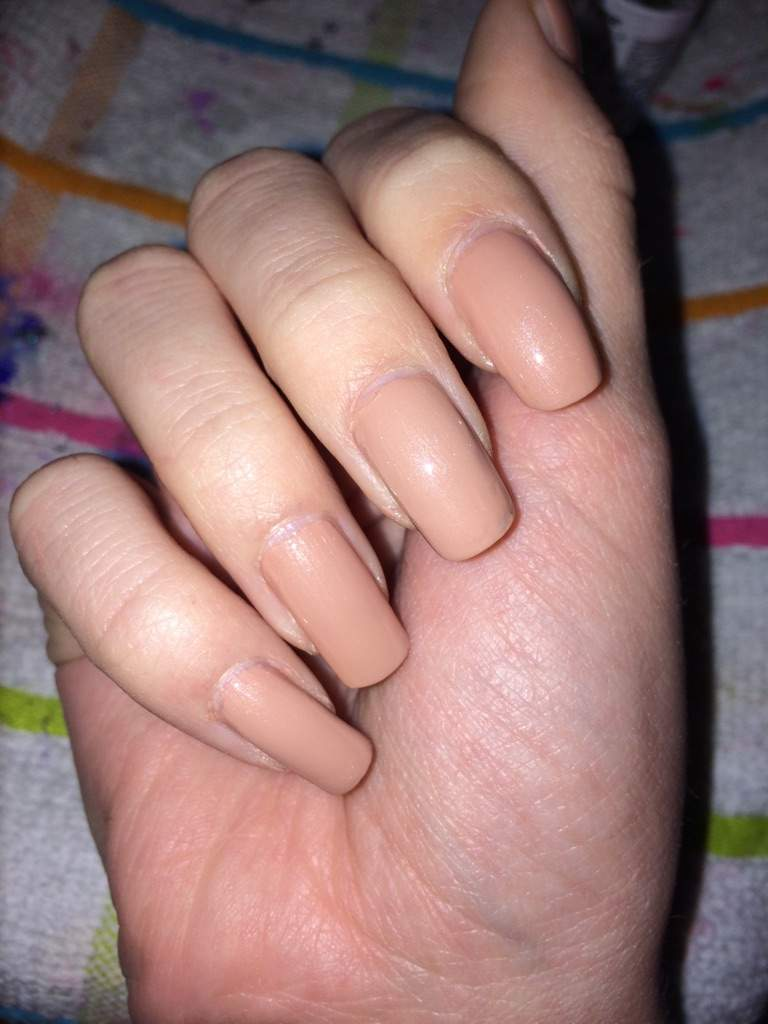 Nude nails! | Nail Art Amino