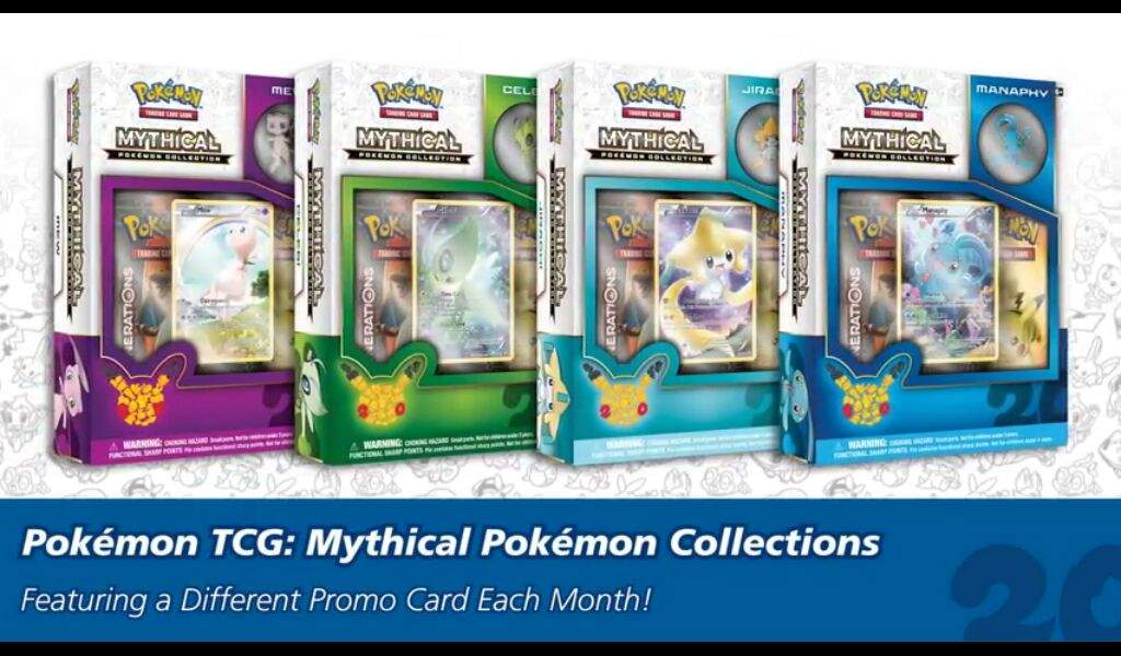 Image result for pokemon tcg generations mythical