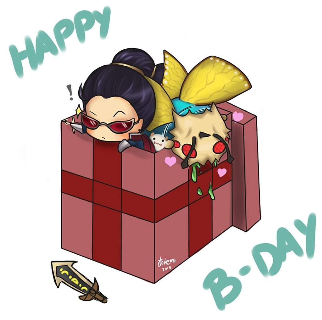 Happy Birthday Drippenrain League Of Legends Amino