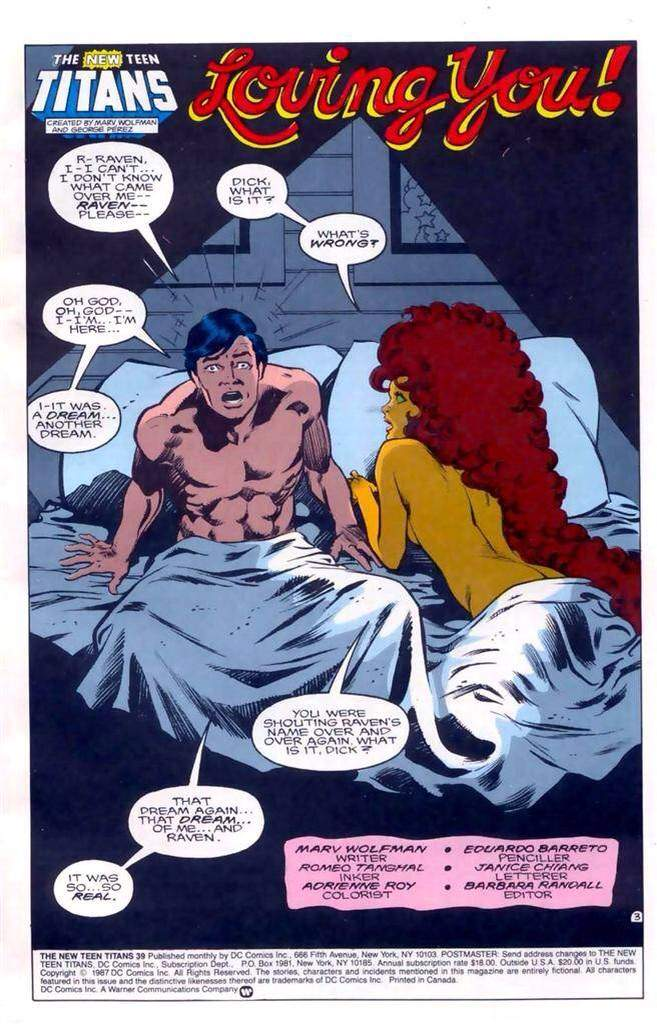 Nightwing And Starfire | Comics Amino