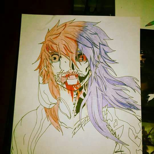 im drawing my 2 best friend and i anime amino