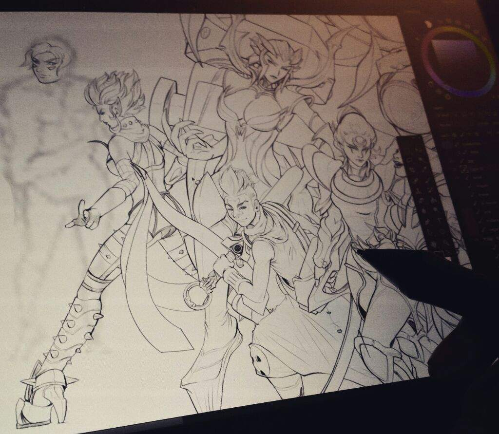 Every Champion Drawing Part 9 League Of Legends