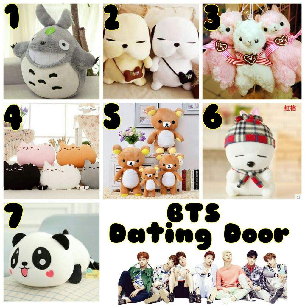 Game BTS Dating Doors