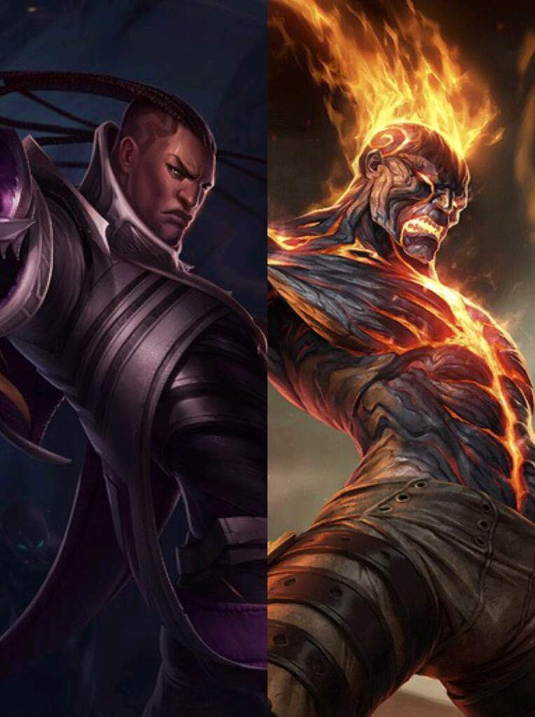 Similiar Splash art!!? | League Of Legends -- Official Amino