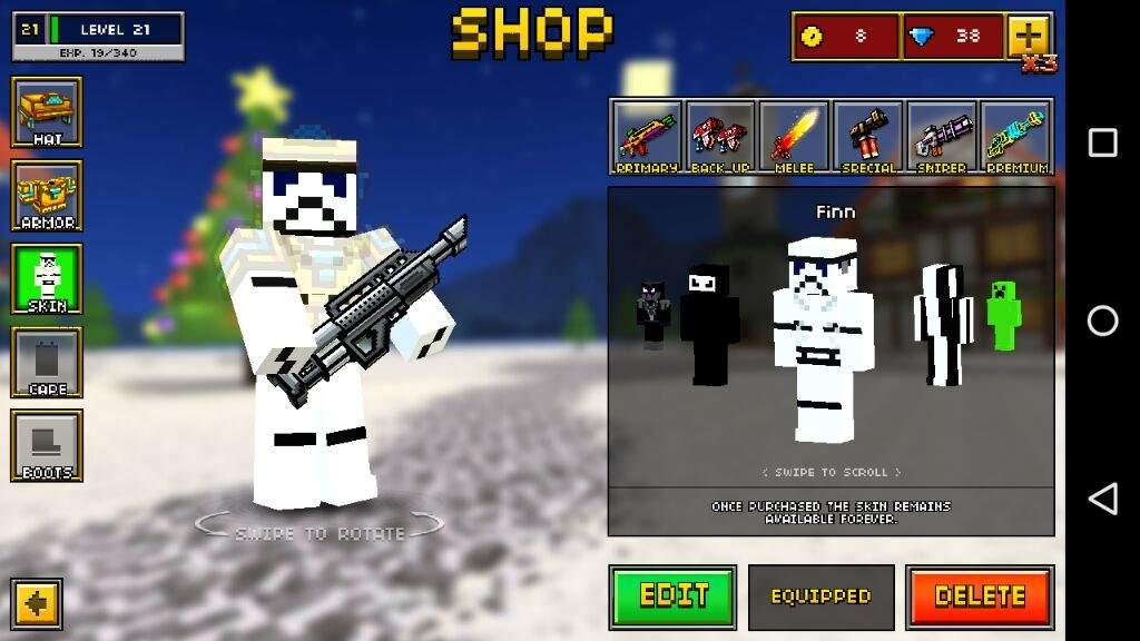 pixel gun 3d best skins