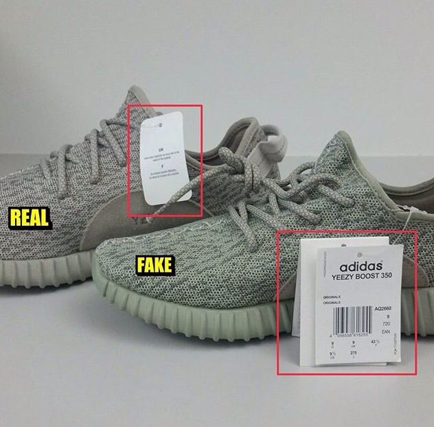 Adidas Yeezy Moonrock Real Vs Fake