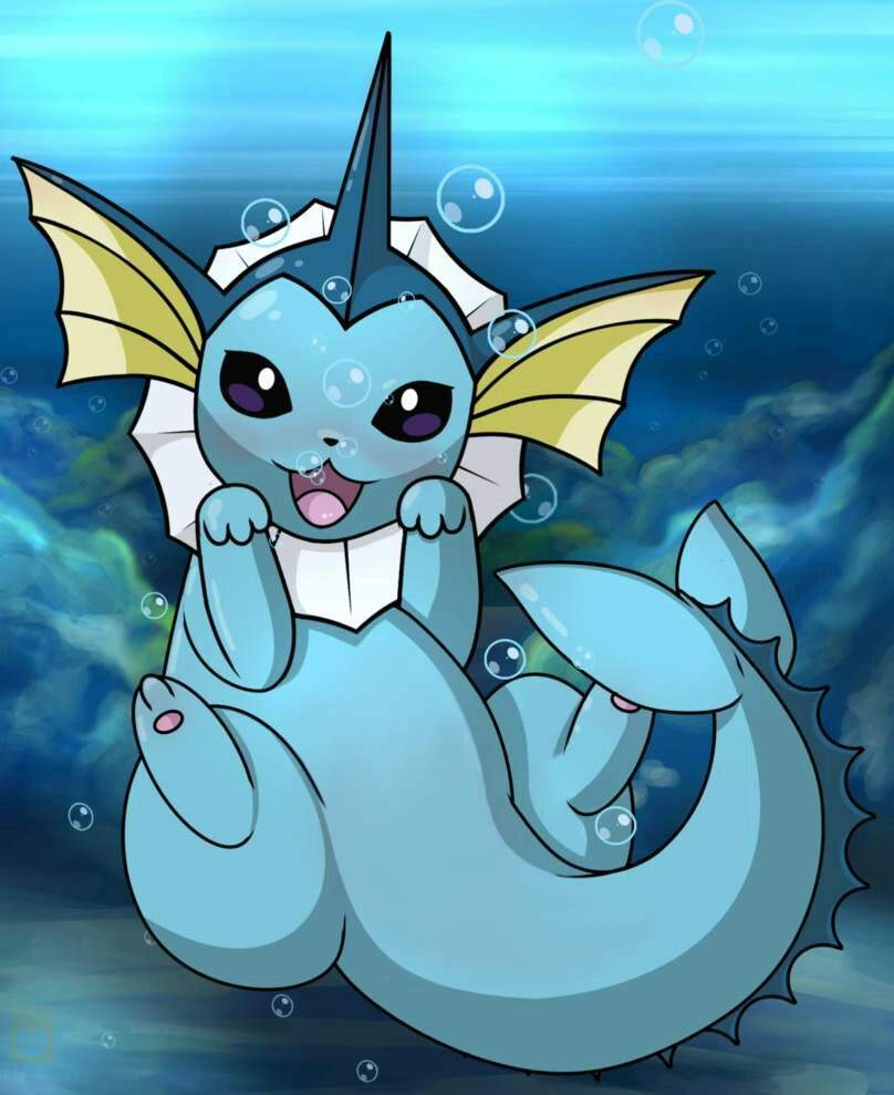 Pokémon Go Database: Vaporeon