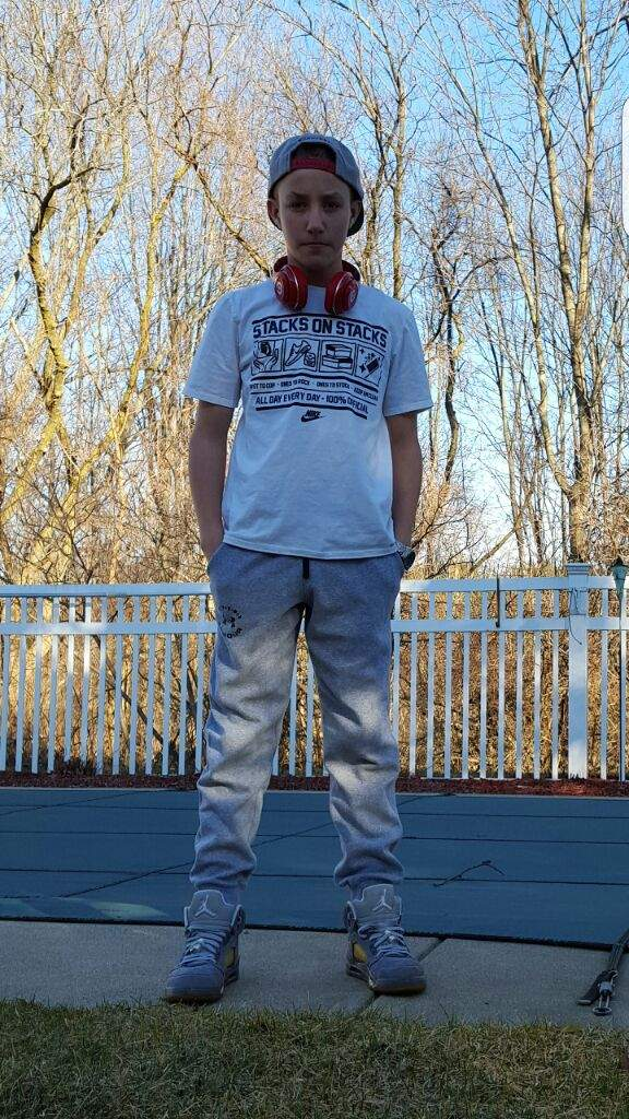 Jordan 5 wolf grey outfit | Sneakerheads Amino
