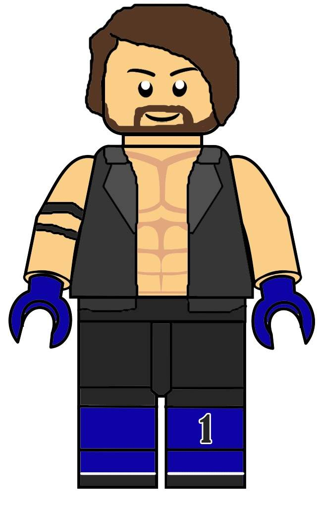 Lego wwe wrestling amino for Aj styles coloring pages
