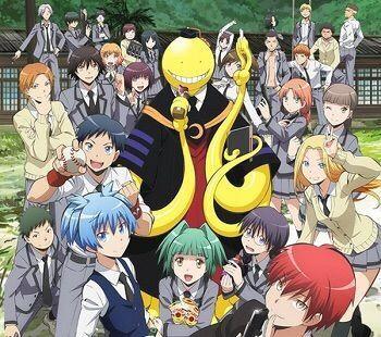 《暗杀教室》是由松井优征所作的一部校园漫画.