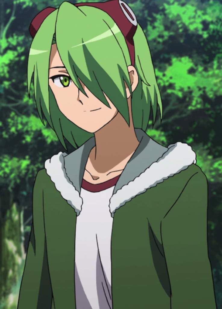 Anime Characters Green : Top green haired anime characters amino