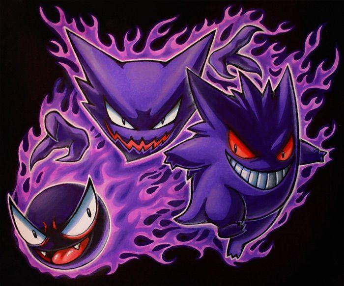 Dark Ampharos Gengar | Pokémon ...