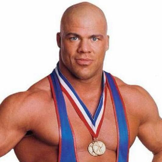 Guys wwe should 39 ve never let go wrestling amino - Pictures of kurt angle ...