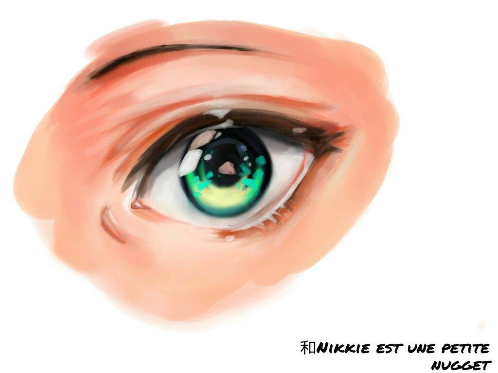 ~•how To Draw And Colour Digital Manga Eyes•~