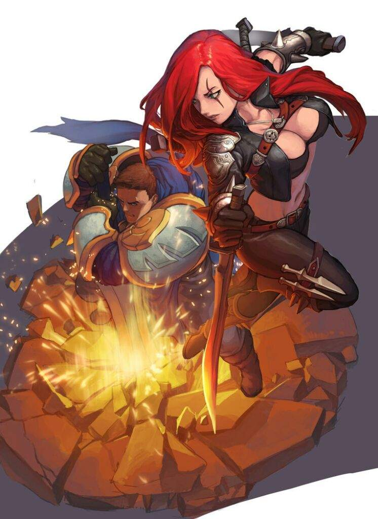 garen and katarina relationship