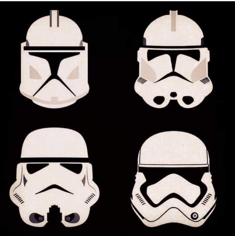 choose which phase of stormclone trooper helmet is your