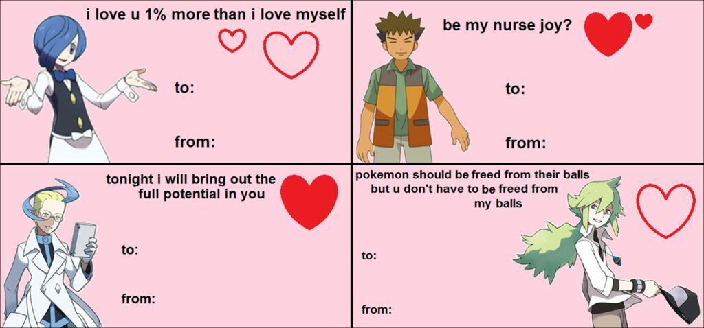 Anime Valentines cards – Anime Valentines Card