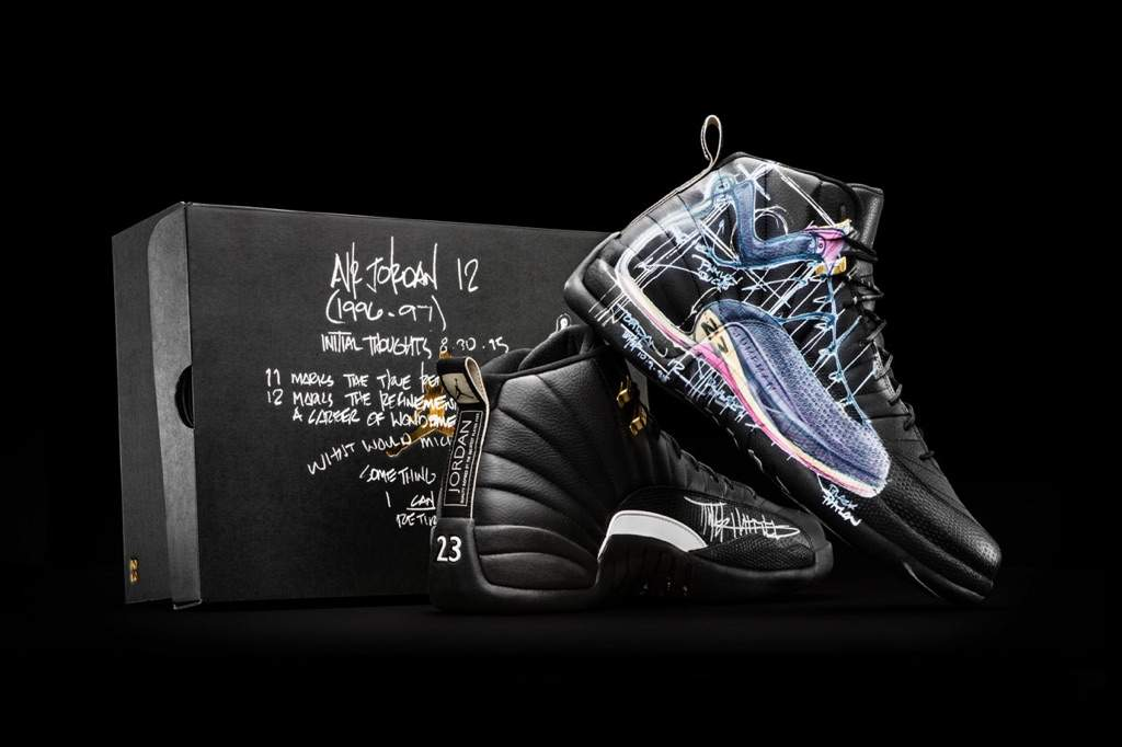 8b3de682b3859a Doernbecher Battle Round 3  Air Jordan 5 and Air Jordan 12 ...