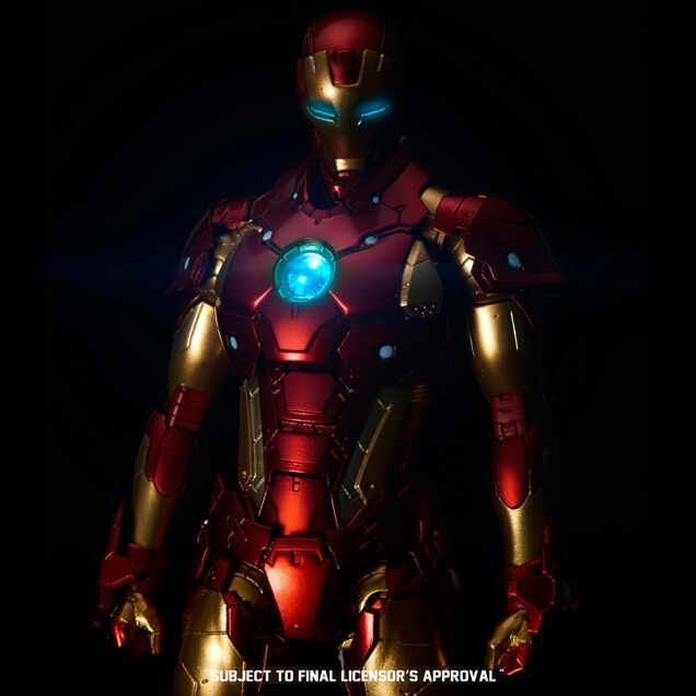How To Build A Iron Man Suit In Minecraft